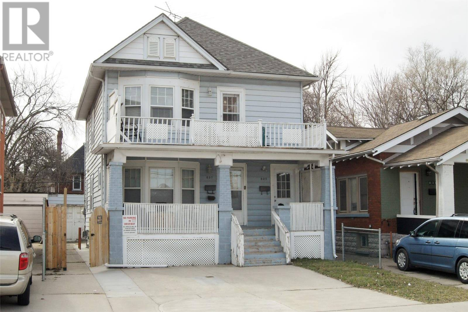 Townhouse for sale at 835 Pelissier  Windsor Ontario - MLS: 20003364