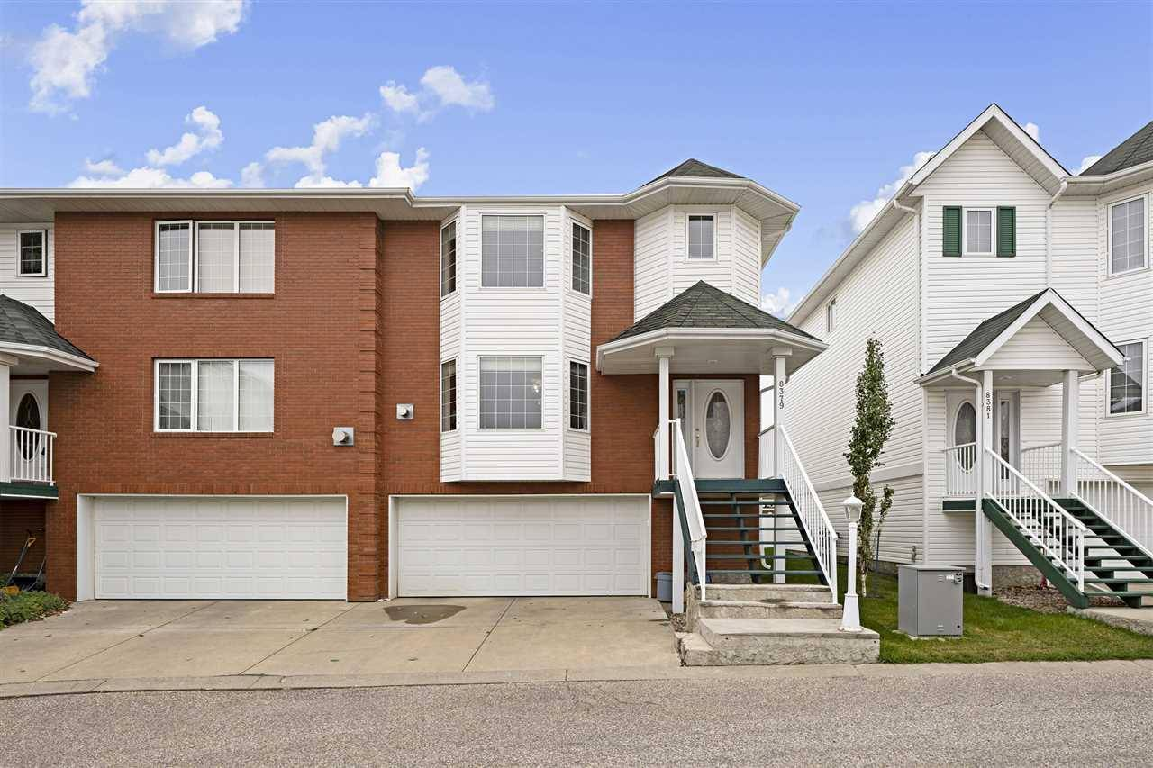 Townhouse for sale at 8379 160 Ave Nw Edmonton Alberta - MLS: E4175601
