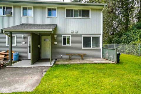 Townhouse for sale at 45185 Wolfe Rd Unit 84 Chilliwack British Columbia - MLS: R2345624