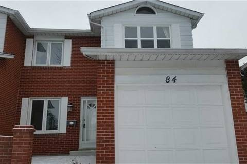 Townhouse for rent at 84 Apache (upper) Tr Toronto Ontario - MLS: C4422504