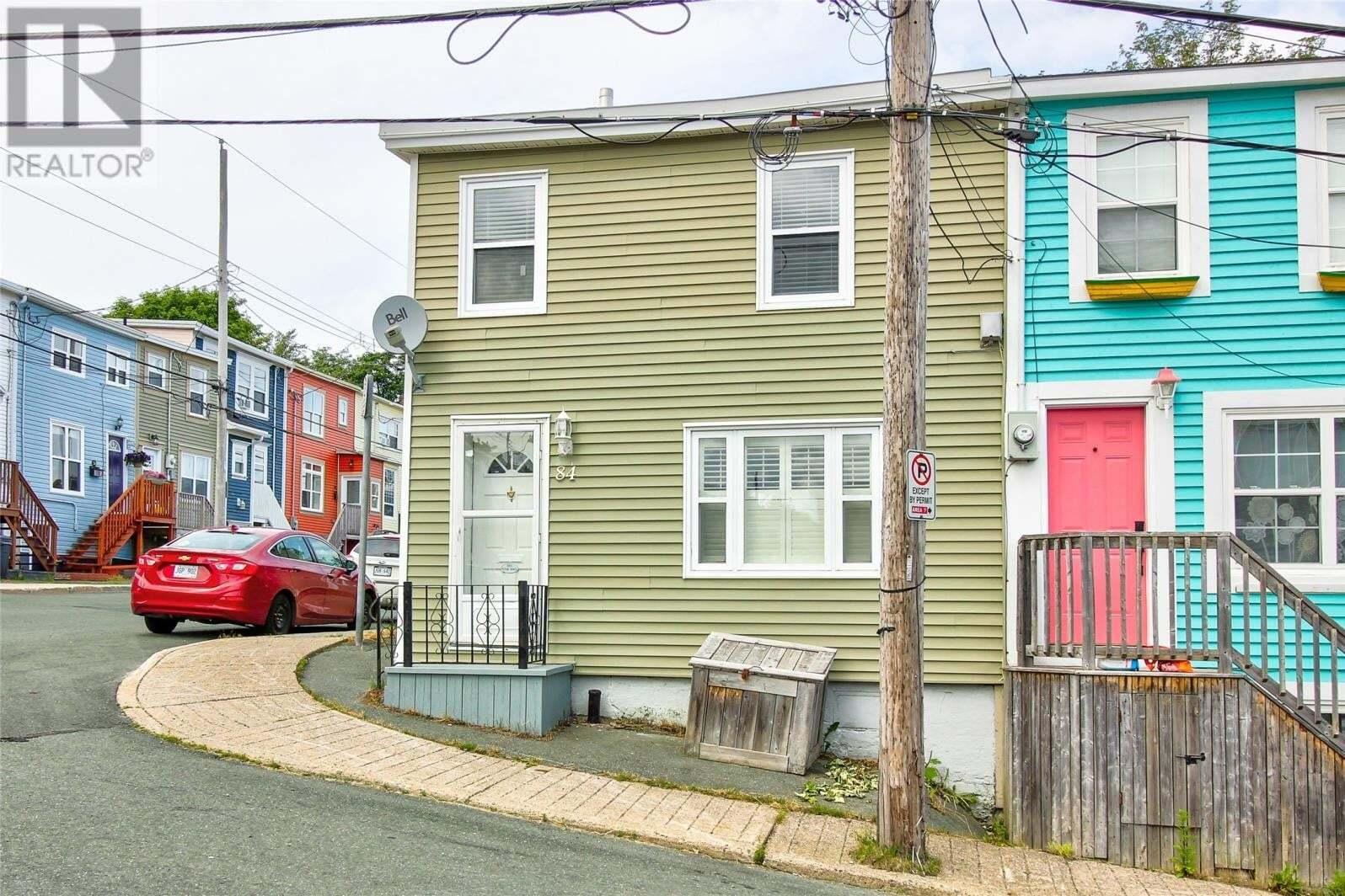 House for sale at 84 Brazil St St. John's Newfoundland - MLS: 1221287