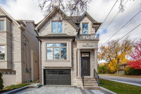 House for sale at 84 Holmes Ave Toronto Ontario - MLS: C4619854