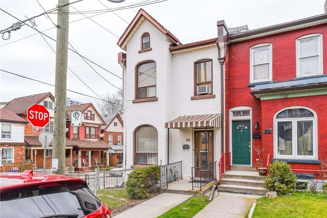 Townhouse for sale at 84 Pearl St N Hamilton Ontario - MLS: H4077141