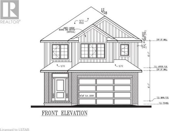 House for sale at 84 Stonefield Ln Ilderton Ontario - MLS: 235126