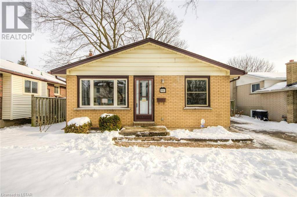 House for sale at 84 Wexford Ave London Ontario - MLS: 240642