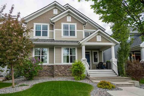 House for sale at 8407 Summerside Grande Blvd Sw Edmonton Alberta - MLS: E4160611