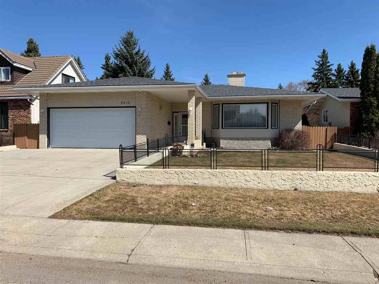 House for sale at 8415 186 St Nw Edmonton Alberta - MLS: E4193241