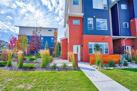 Townhouse for sale at 8425 Saddlebrook Dr Ne Saddle Ridge, Calgary Alberta - MLS: C4204397