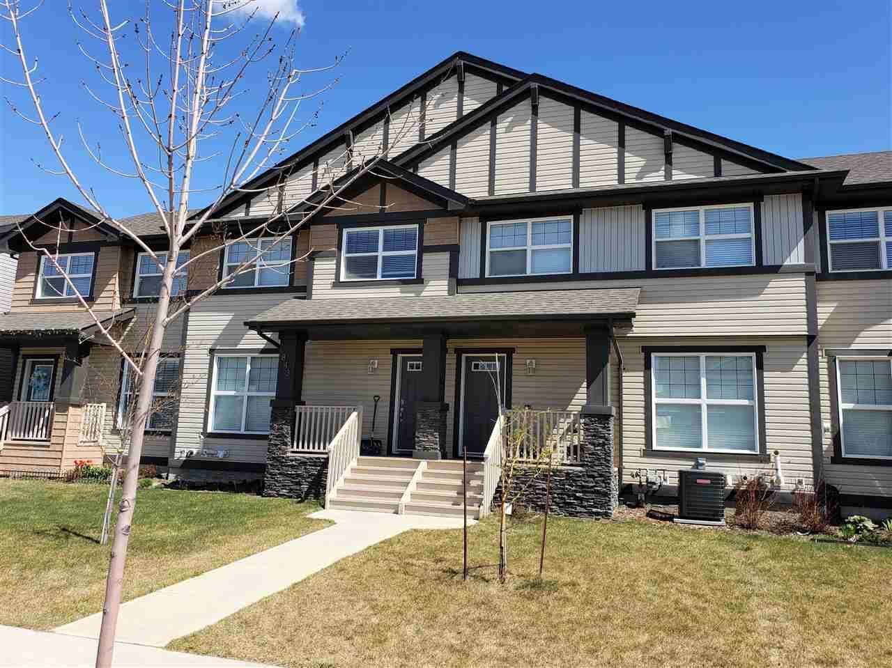 House for sale at 843 Crystallina Nera Wy Nw Edmonton Alberta - MLS: E4157300