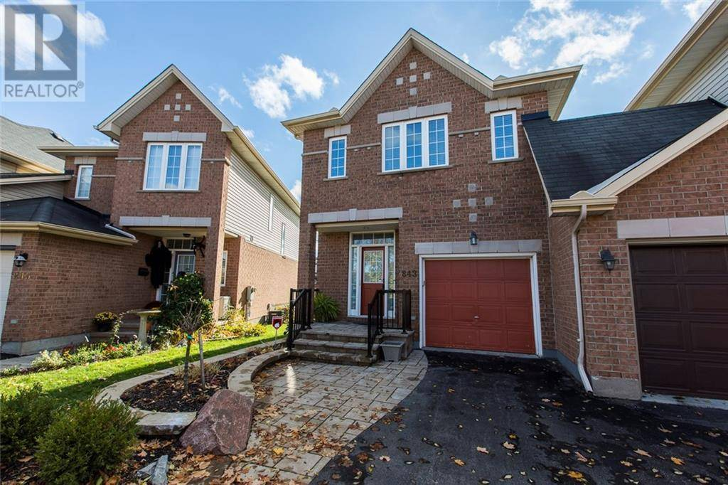 House for sale at 843 Schooner Cres Ottawa Ontario - MLS: 1173331