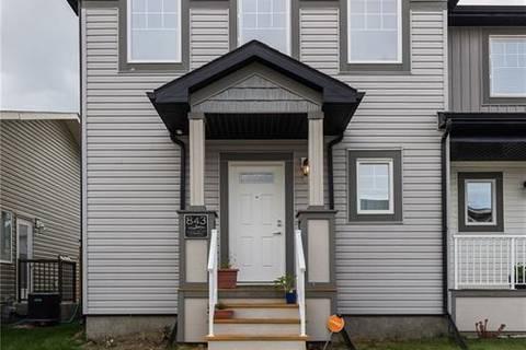 Townhouse for sale at 843 Silkstone Cs W Lethbridge Alberta - MLS: LD0172844