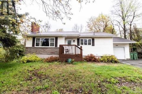 House for sale at 844 Smythe St Fredericton New Brunswick - MLS: NB028291