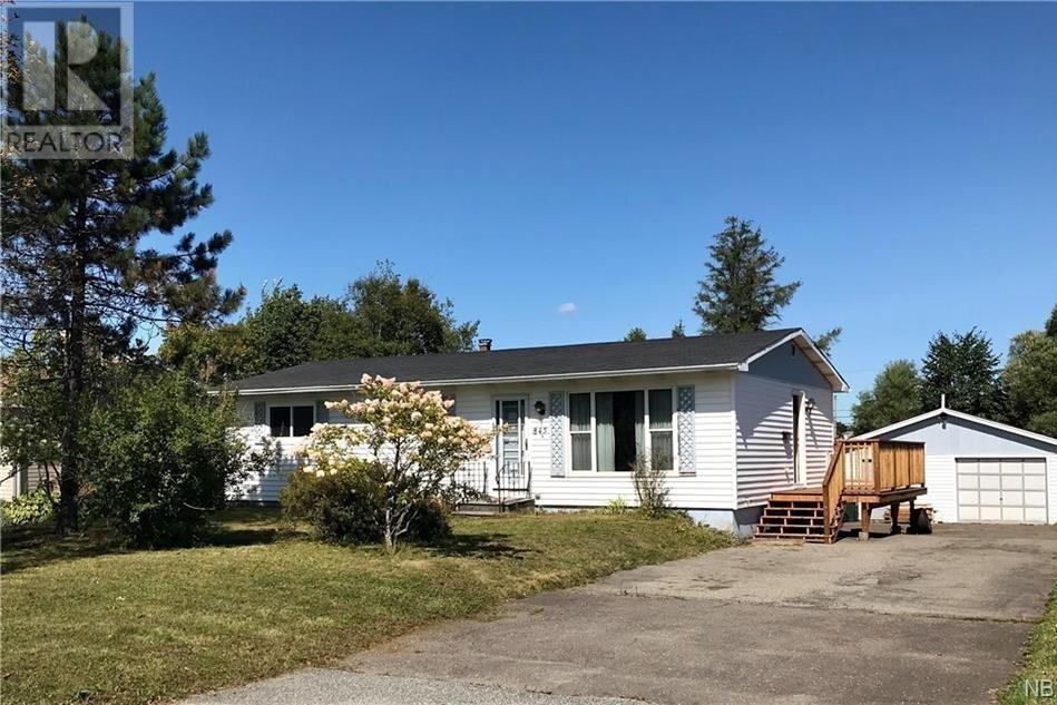 House for sale at 845 Danells Dr Saint John New Brunswick - MLS: NB049413