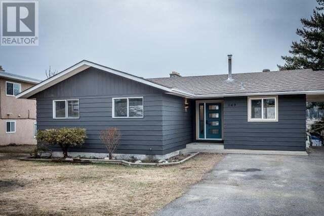 House for sale at 849 Gleneagles Drive  Kamloops British Columbia - MLS: 156766