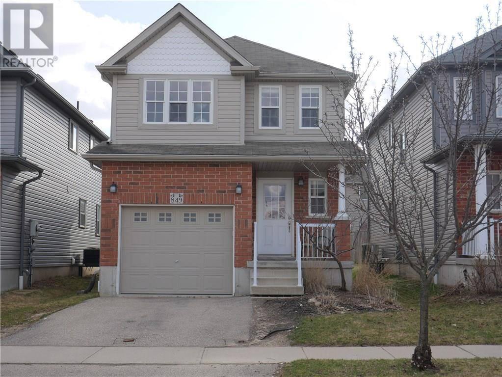 House for sale at 849 Laurelwood Dr Waterloo Ontario - MLS: 30803754