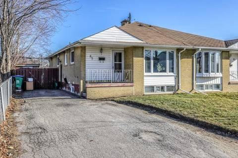 Townhouse for sale at 85 Addington Cres Brampton Ontario - MLS: W4722716