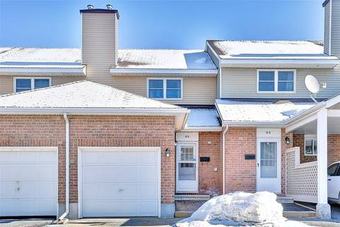 Townhouse for sale at 85 Bentbrook Cres Ottawa Ontario - MLS: 1143878
