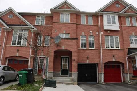 Townhouse for sale at 85 Bernard Ave Brampton Ontario - MLS: W4773425