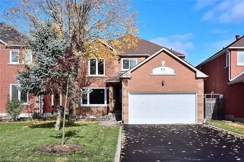 House for sale at 85 Bilbermar Dr Richmond Hill Ontario - MLS: N4403593