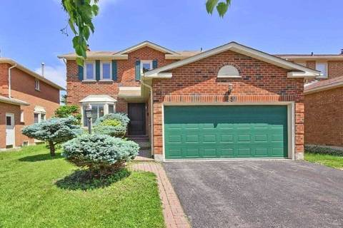 House for sale at 85 Cairns Dr Markham Ontario - MLS: N4491920