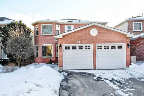House for sale at 85 Delayne Dr Aurora Ontario - MLS: N4698661