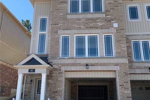 Townhouse for sale at 85 Franks Wy Barrie Ontario - MLS: S4512036