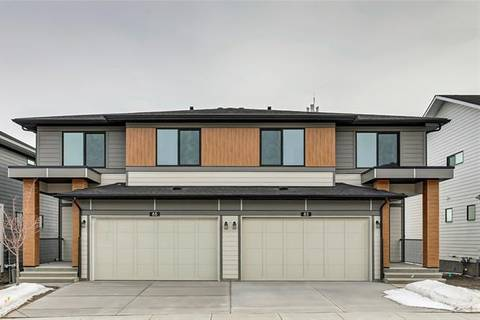 Townhouse for sale at 85 Harvest Grove Common Northeast Calgary Alberta - MLS: C4290814
