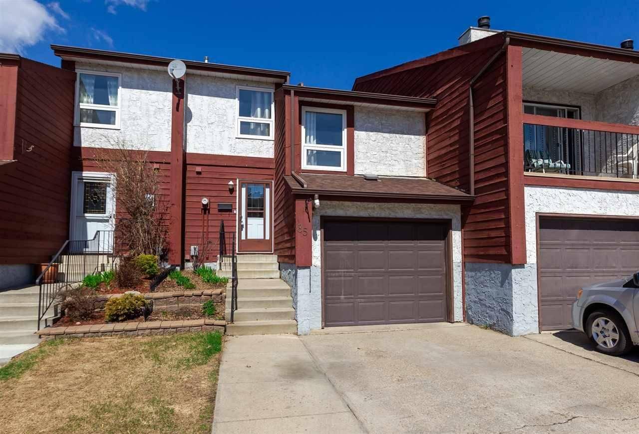 Townhouse for sale at 85 Lorelei Cs Nw Edmonton Alberta - MLS: E4190865