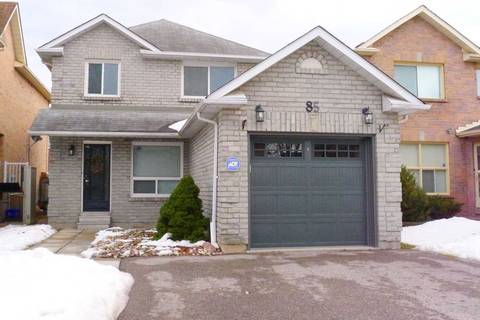 House for sale at 85 Mullen Dr Ajax Ontario - MLS: E4702594