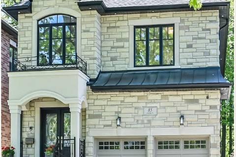 House for sale at 85 Oakridge Dr Toronto Ontario - MLS: E4480327
