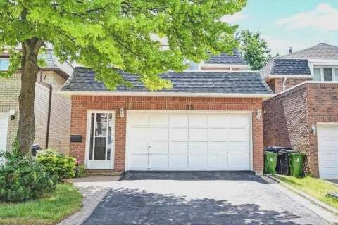 House for sale at 85 Redheugh Cres Toronto Ontario - MLS: E4826141
