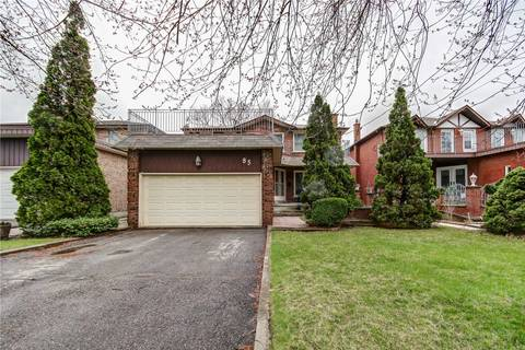 House for sale at 85 Spruce Ave Richmond Hill Ontario - MLS: N4530600
