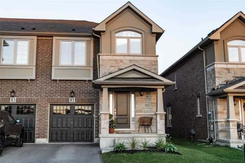 Townhouse for sale at 85 Tasker Ct Milton Ontario - MLS: W4871722
