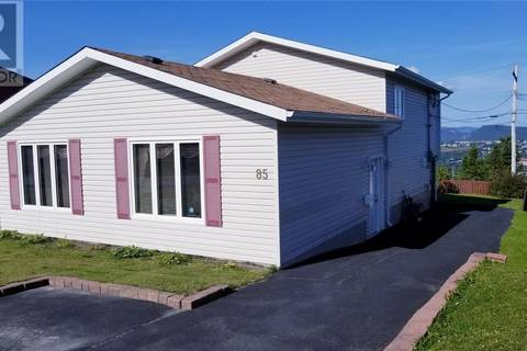 House for sale at 85 Windsor St Corner Brook Newfoundland - MLS: 1196030