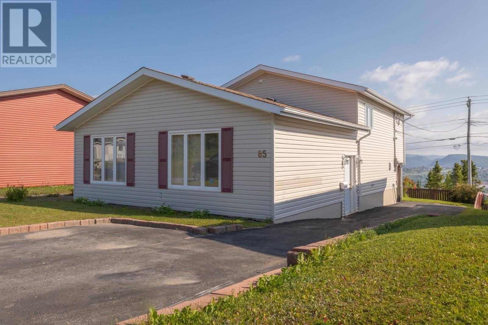 House for sale at 85 Windsor St Corner Brook Newfoundland - MLS: 1200156