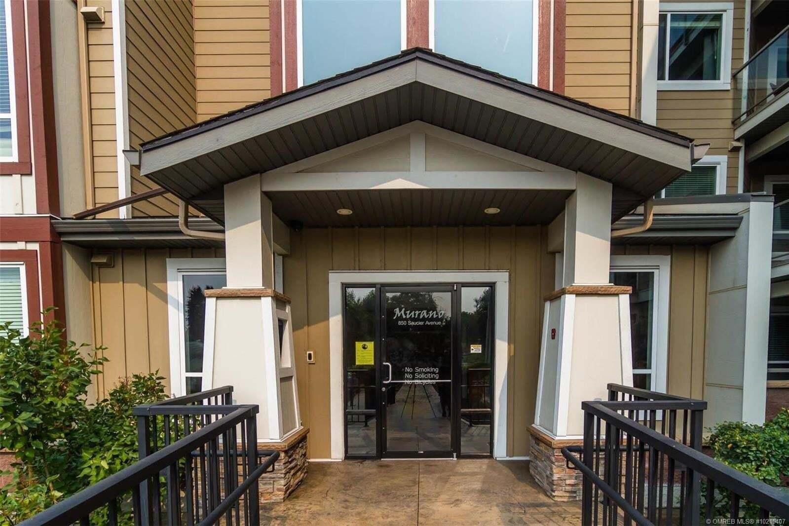 Condo for sale at 850 Saucier Ave Kelowna British Columbia - MLS: 10215407