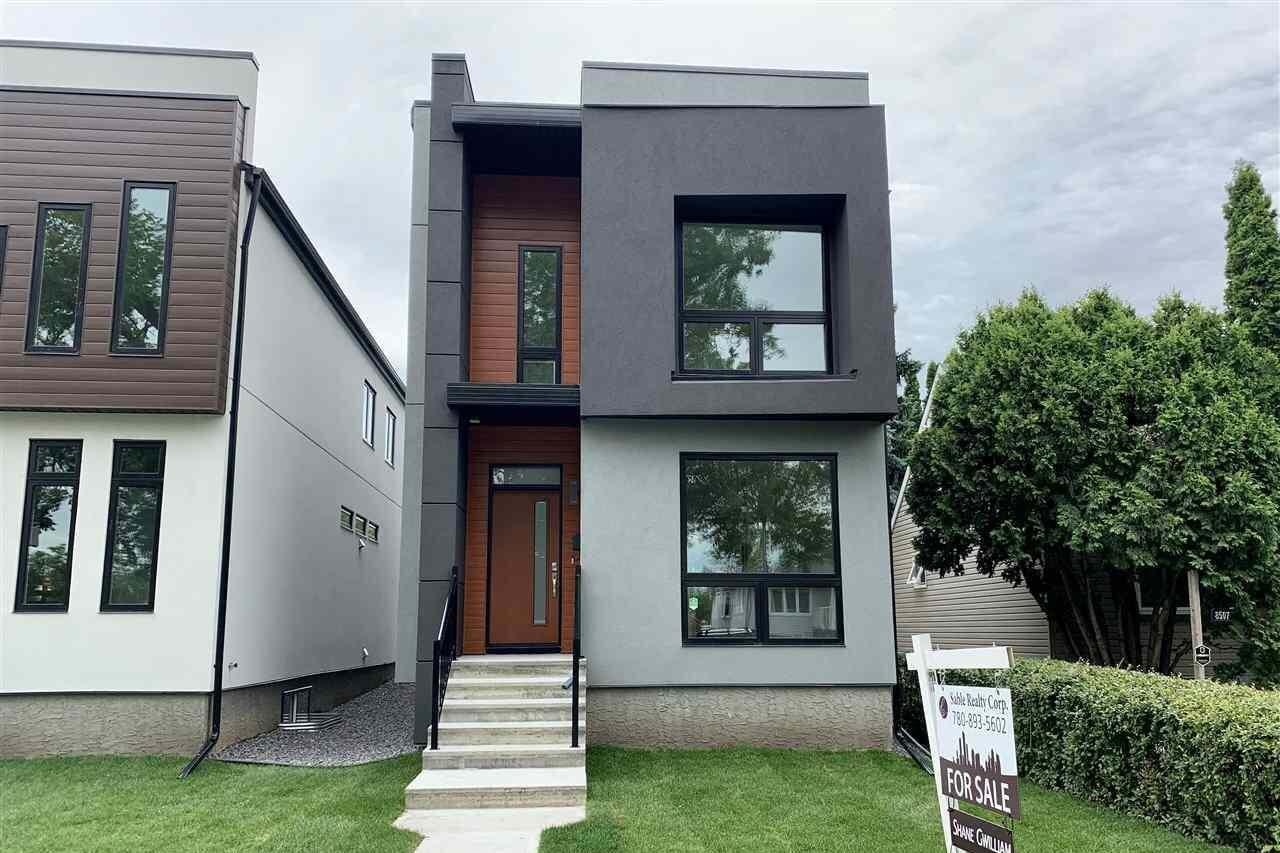 House for sale at 8505 84 Av NW Edmonton Alberta - MLS: E4199784