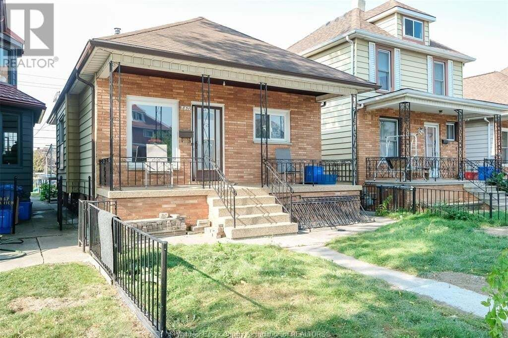 House for sale at 851 Marion  Windsor Ontario - MLS: 20013817