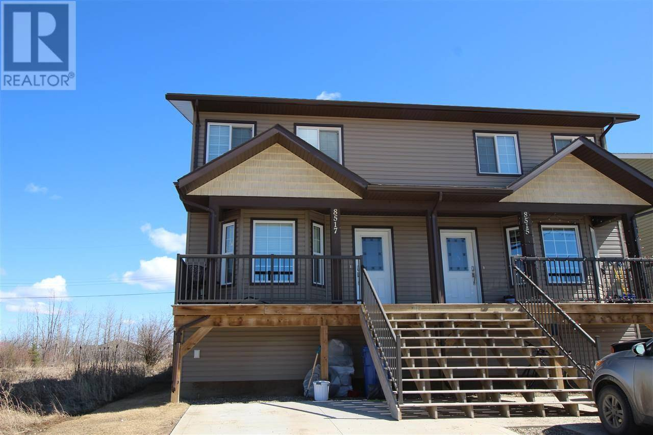 Townhouse for sale at 8517 74 St Fort St. John British Columbia - MLS: R2429323