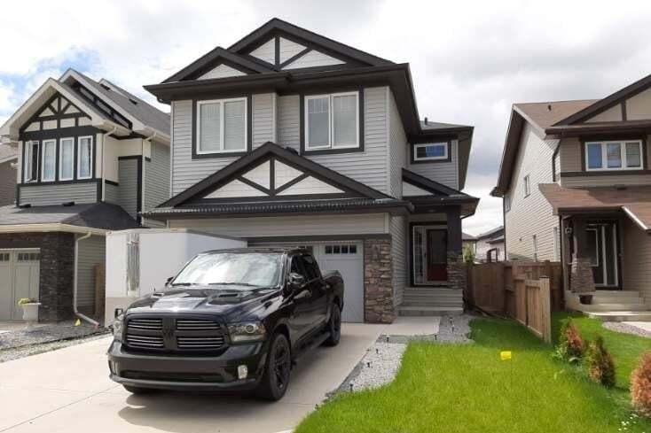 House for sale at 852 Crystallina Nera Wy NW Edmonton Alberta - MLS: E4206319