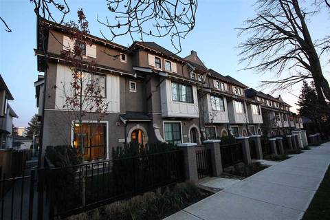 Townhouse for sale at 8520 Osler St Vancouver British Columbia - MLS: R2334985