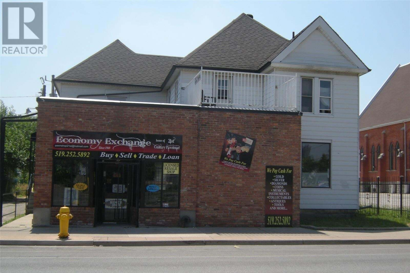 Commercial property for sale at 853-861 Wyandotte  East Windsor Ontario - MLS: 20011327