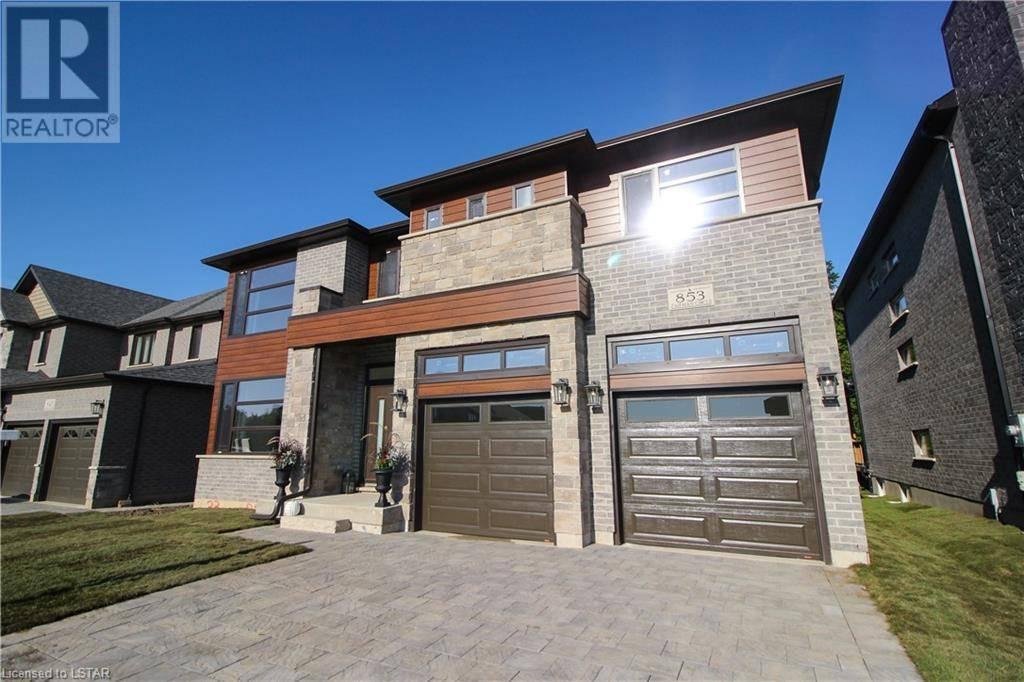 House for sale at 853 Zaifman Circ London Ontario - MLS: 220161