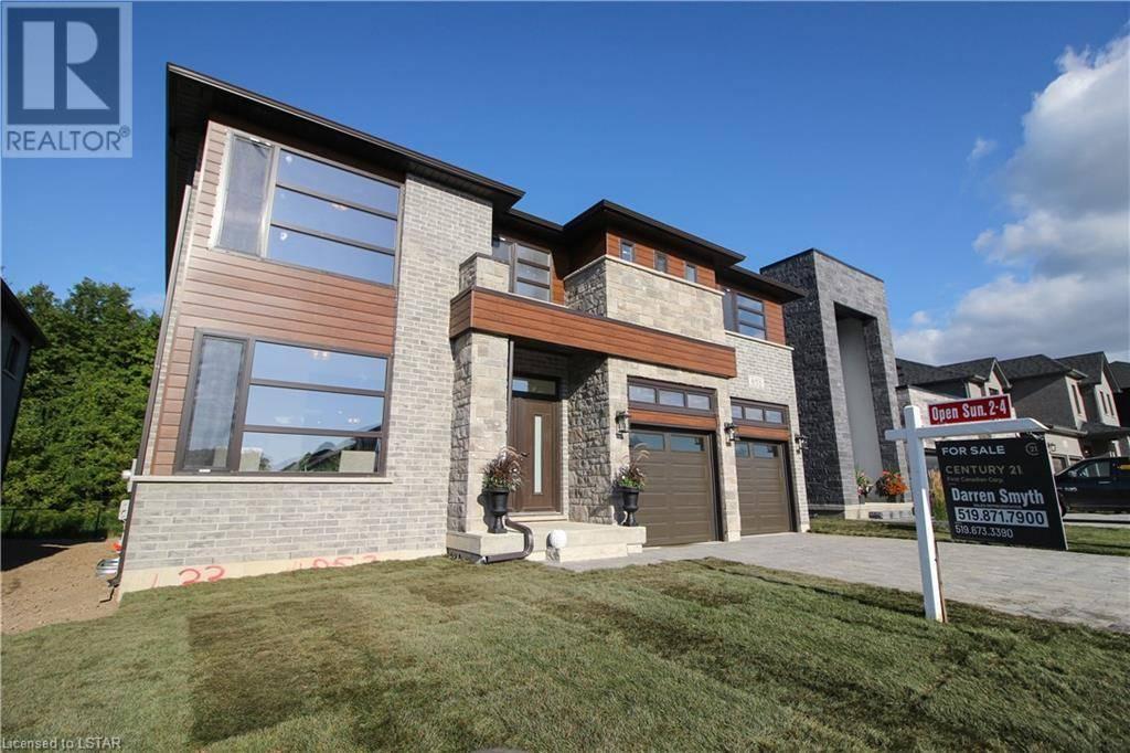 House for sale at 853 Zaifman Circ London Ontario - MLS: 230877