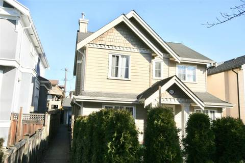 Townhouse for sale at 8538 Hudson St Vancouver British Columbia - MLS: R2415785