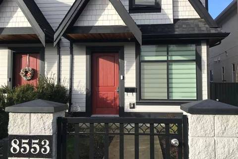 Townhouse for sale at 8553 Montcalm St Vancouver British Columbia - MLS: R2431106
