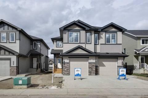 Townhouse for sale at 8565 Cushing Pl Sw Edmonton Alberta - MLS: E4151853