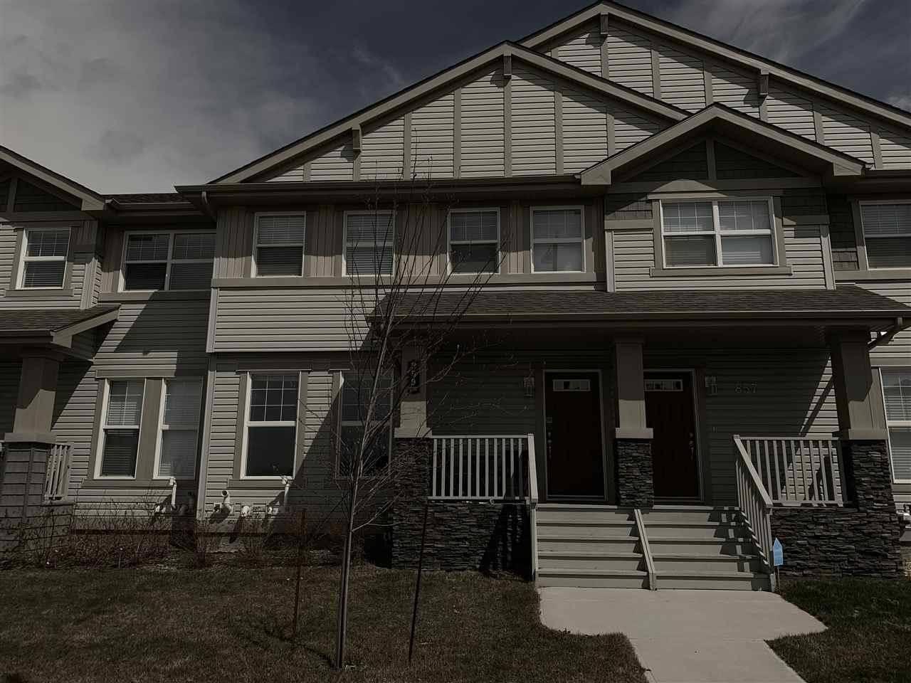 House for sale at 859 Crystallina Nera Wy Nw Edmonton Alberta - MLS: E4155839