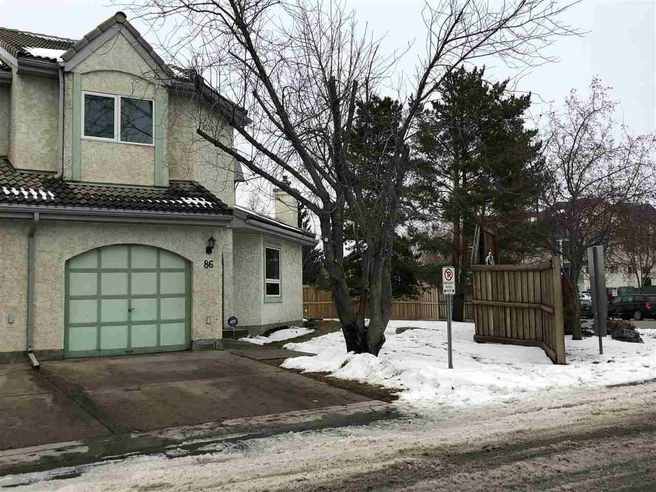 Townhouse for sale at 9520 174 St Nw Unit 86 Edmonton Alberta - MLS: E4180089