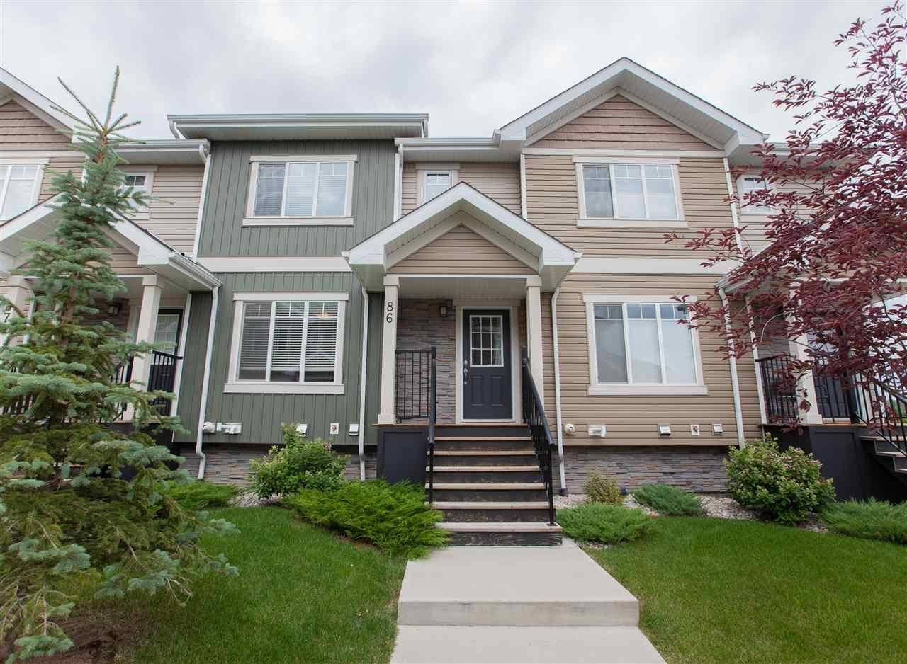 Townhouse for sale at 9535 217 St Nw Unit 86 Edmonton Alberta - MLS: E4172587